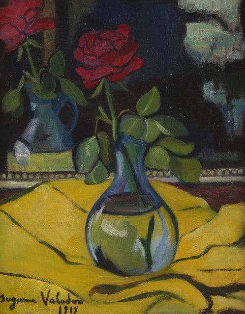 Suzanne Valadon, 'La rose au miroir', 1919, HELENE BAILLY GALLERY