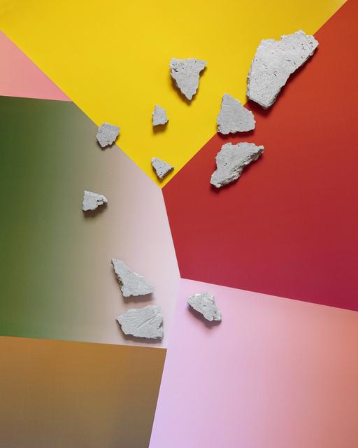 , 'Concrete Compositions (Series 2) #2,' 2015, Galerie pompom