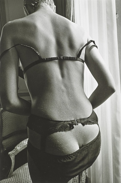 Jeanloup Sieff, 'Femme Involontairement Provocanted, le Duvet, Paris', 1978, Hamiltons Gallery