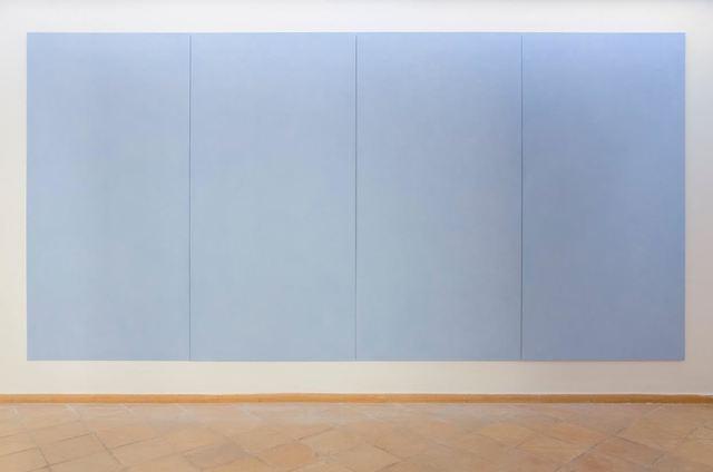 , 'Carte di azzurro verso il mare,' 1998, Vistamare