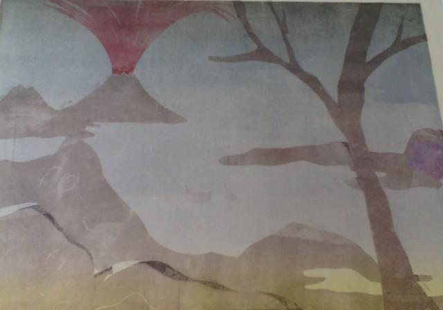 , 'Paisaje con el monte fuji 3,' 2015, Polígrafa Obra Gráfica