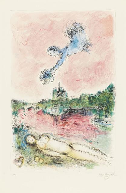 Marc Chagall, 'View sur Notre-Dame', 1980, Christie's