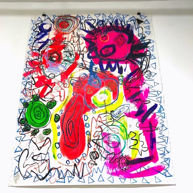 , 'Chaos 77,' 2015, Catherine Ahnell Gallery