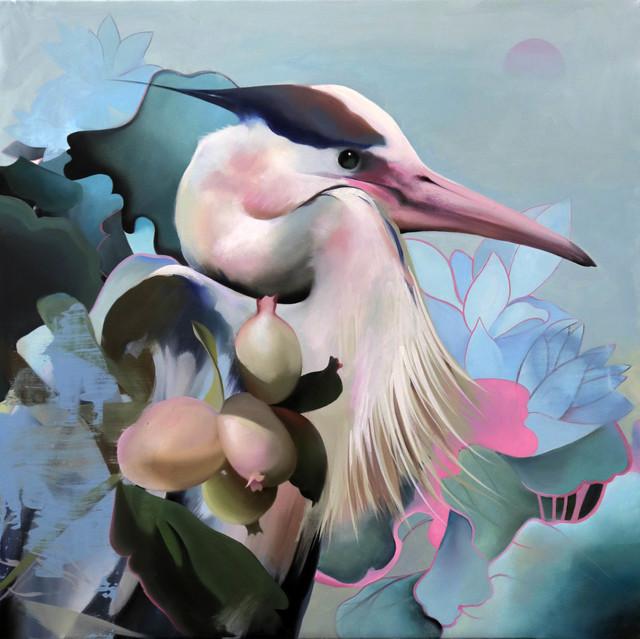 Manu Muñoz, 'Japanese crane', 2018, Blanca Soto Arte