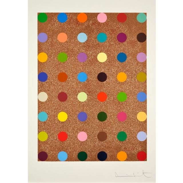 Damien Hirst, 'Spots with Rose Gold Glitter', Arton Contemporary