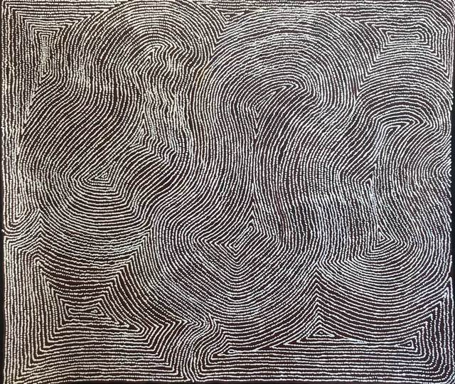 Warlimpirrnga Tjapaltjarri, 'Untitled - Men's Story Kanapilya', 2019, Gannon House Gallery