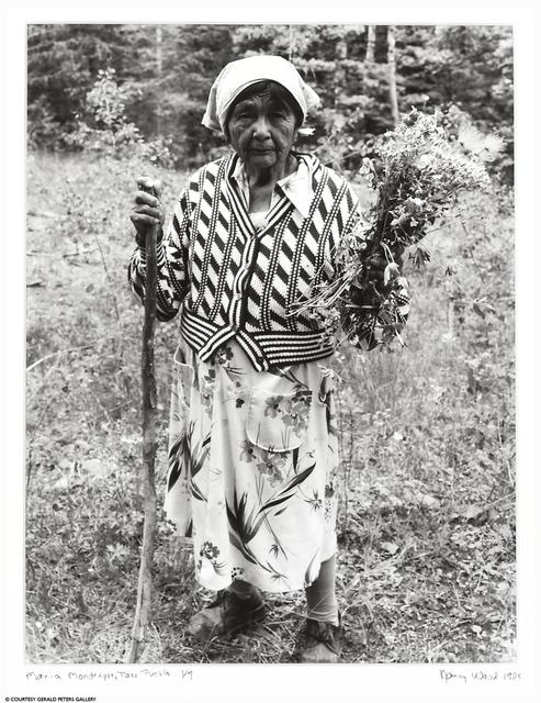Nancy Wood, 'Maria Mondragon, Taos Pueblo', 1988, Gerald Peters Gallery