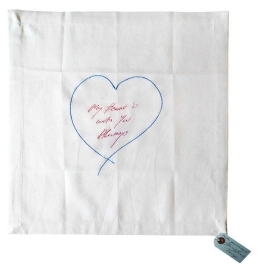 Tracey Emin, 'My Heart Is With You Always (Blue/Pink)', 2015, Lougher Contemporary