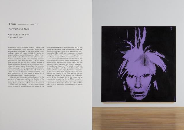 , 'Untitled (Titian / Warhol),' 2015, Almine Rech