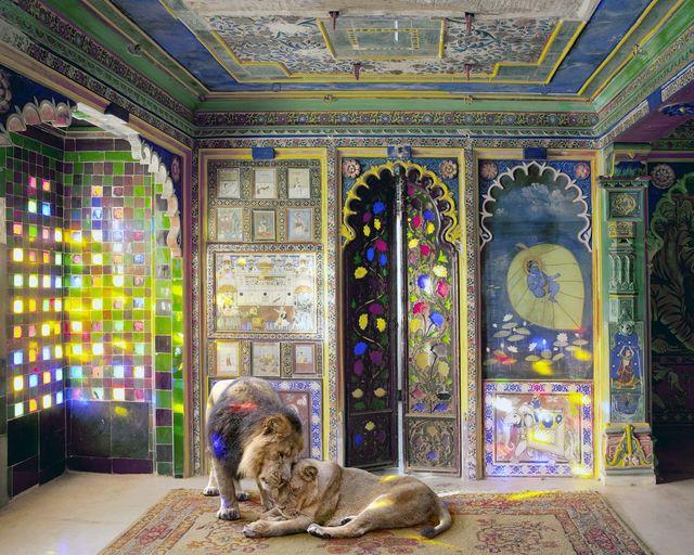 Karen Knorr, 'Finding Refuge, Junha Mahal Dungarpur', 2013, Sundaram Tagore Gallery