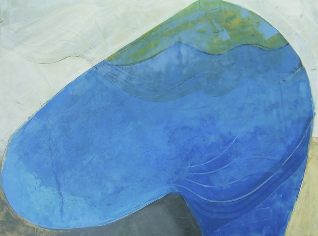, 'Blue Pool,' 2015, InLiquid