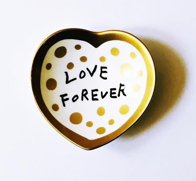 Yayoi Kusama, 'Love Forever Ceramic Bowl (VIP Gold Edition)', 2017, Alpha 137 Gallery
