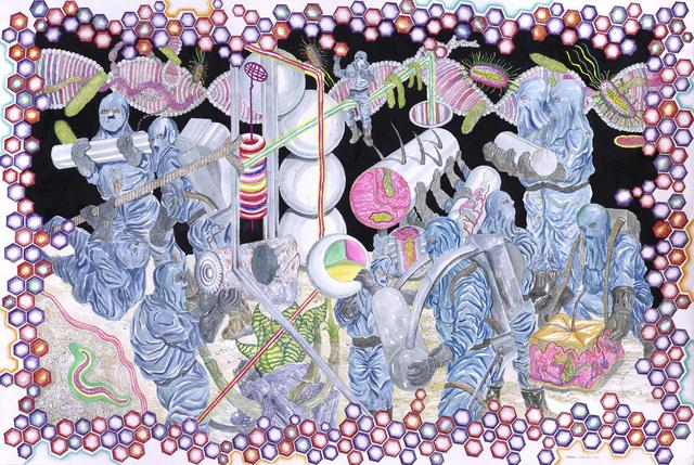 , 'The Front - Line Keria,' 2017, Richard Koh Fine Art