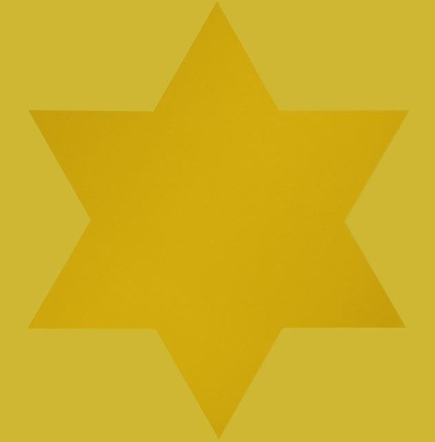 Olivier Mosset, 'Yellow Star', 1998, Zane Bennett Contemporary Art