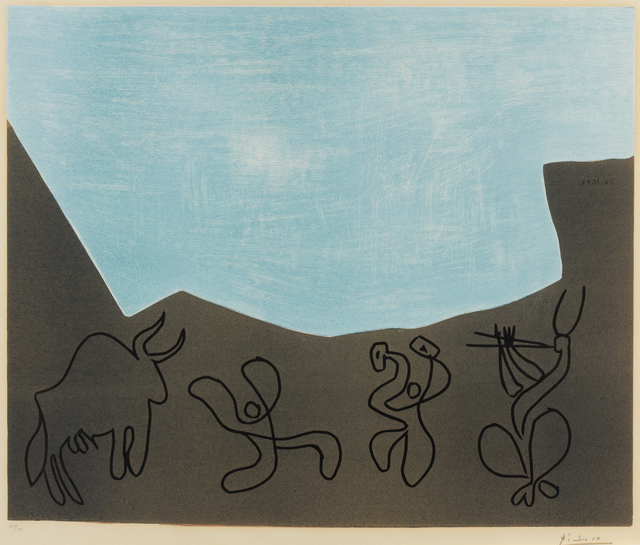 Pablo Picasso, 'Bacchanale', 1959, Hindman