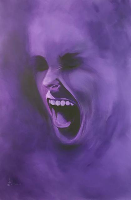 , 'Smoke Screen - Dark Purple,' 2018, Addicted Art Gallery