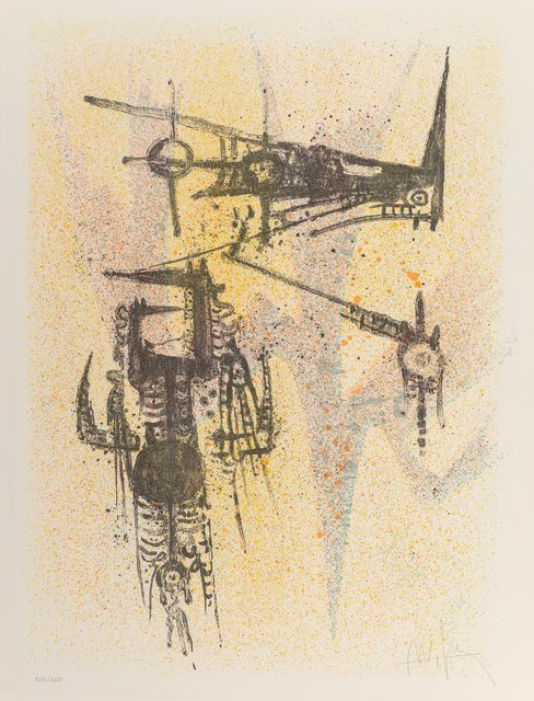 Wifredo Lam, 'Untitled, from the Flight Portfolio', 1967, Heritage Auctions