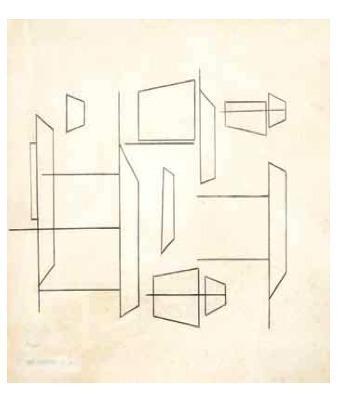 , 'S/T,' ca. 1950's, Henrique Faria Fine Art