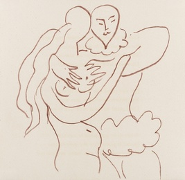 Henri Matisse, 'Untitled (from Florilège des Amours de Ronsard (Duthuit books 25)),' 1948, Forum Auctions: Editions and Works on Paper (March 2017)