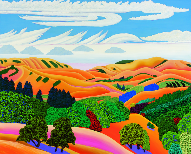 , 'Oak and Hills,' 2008, ACA Galleries