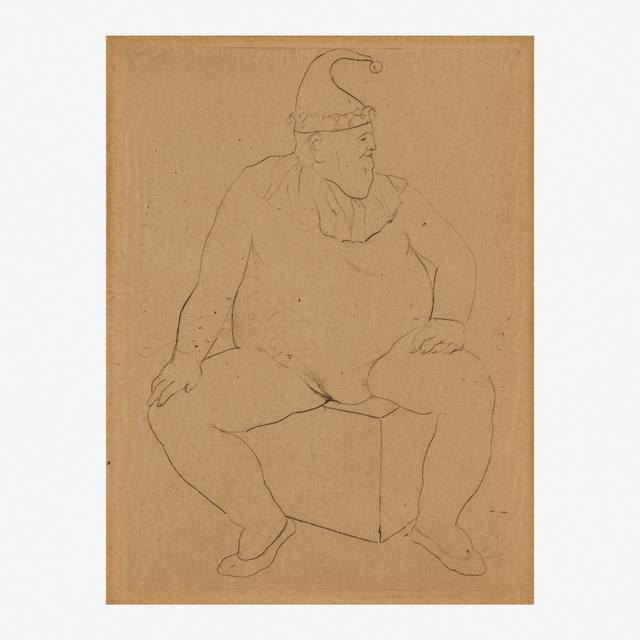 Pablo Picasso, 'Le Saltimbanque au Repos from La Suite des Saltimbanques', Rago