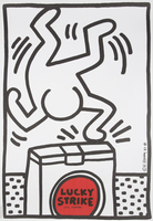 Keith Haring, Lucky Strike Poster