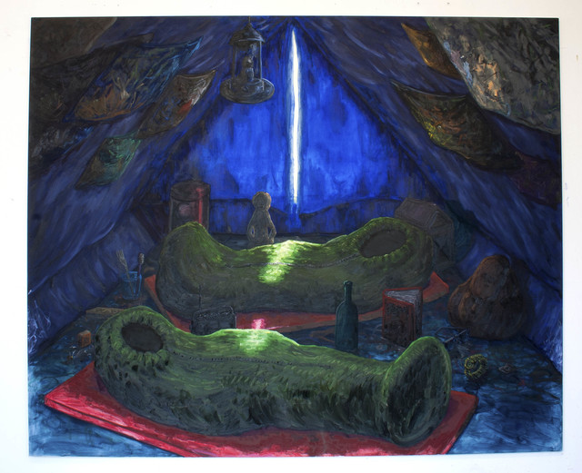 Willem Weismann, 'Valley of the Kings', 2012, Quadrado Azul