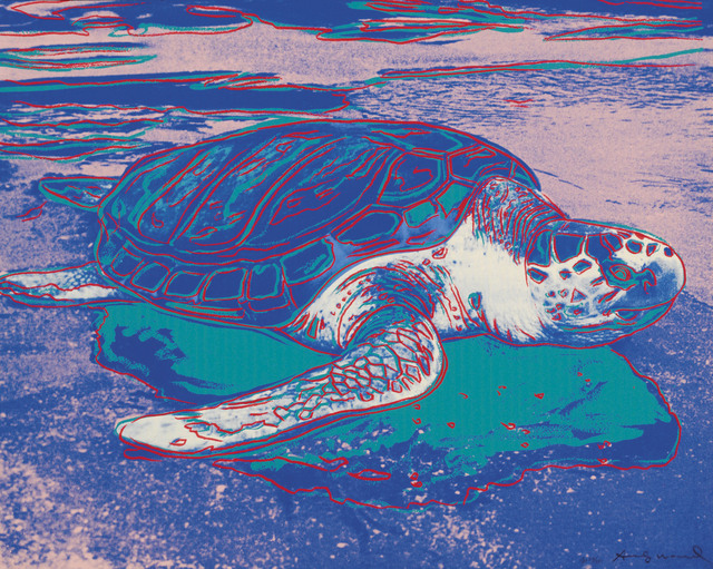 Andy Warhol, 'Turtle', 1985, Christie's