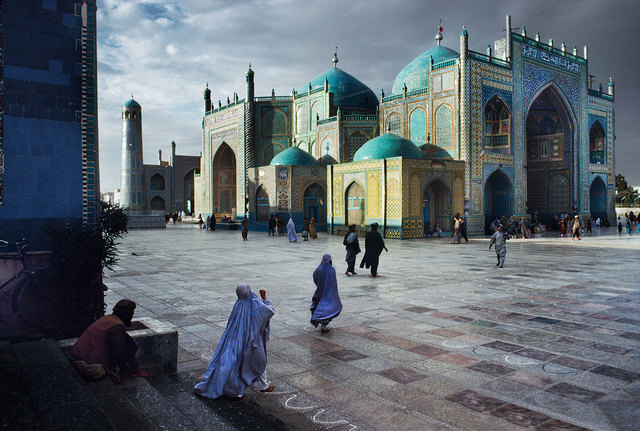 , 'Salat at Hazrat Ali Mosque, Mazar-Sharif, Afghanistan,,' 1992, Pictura Gallery