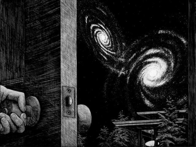 , 'Galaxy Door,' 2010, Robert Berman Gallery