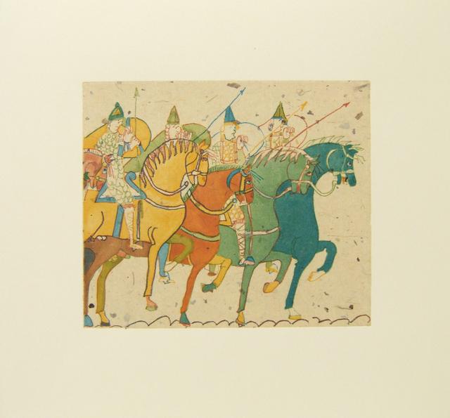 Laura Owens, 'Untitled (Horses)', 2006, Betsy Senior Fine Art