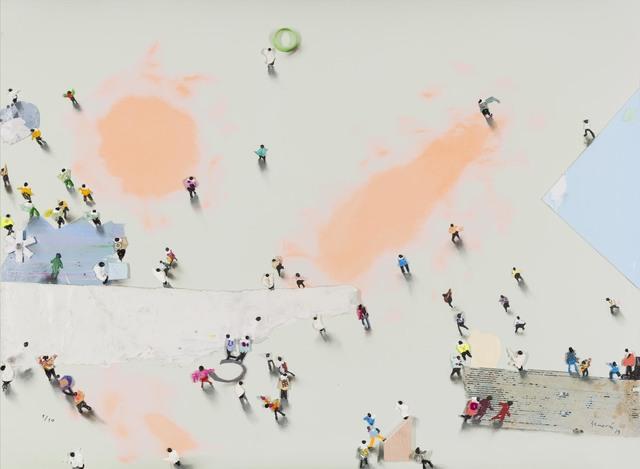 Juan Genovés, 'Afueras', 2019, Aurora Vigil-Escalera Art Gallery