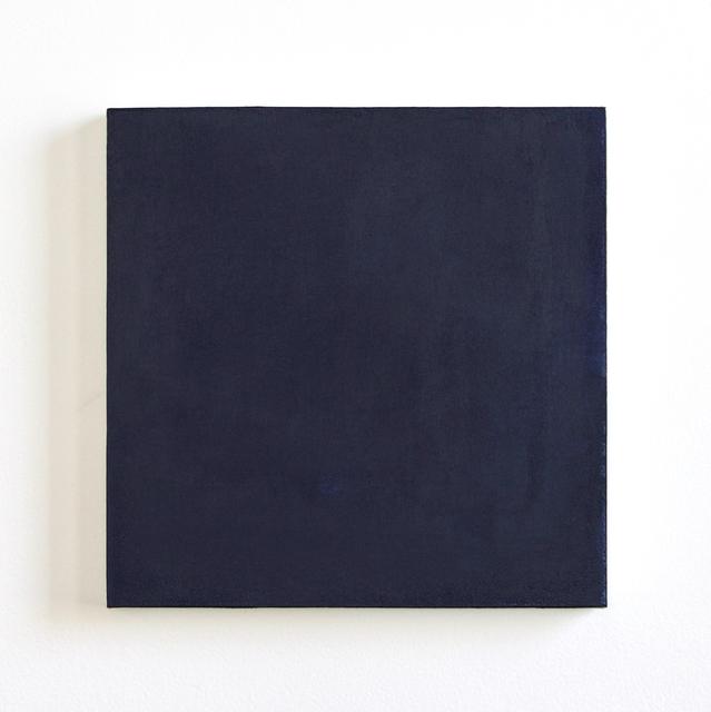 , 'Varitions of Paynes Gray,' 2018, Asphodel