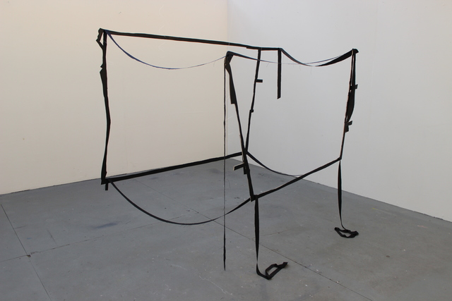 Aileen Kelly, 'Dock', 2016, Sculpture, Wood and fabric, Alfa Gallery