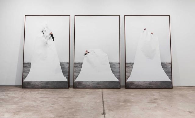 , 'Volumes III, II, I ,' 2014, LAMB Arts