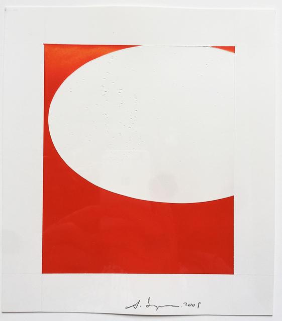, 'Saarinen Table (orange/white),' 1063, HATHAWAY | Contemporary Gallery