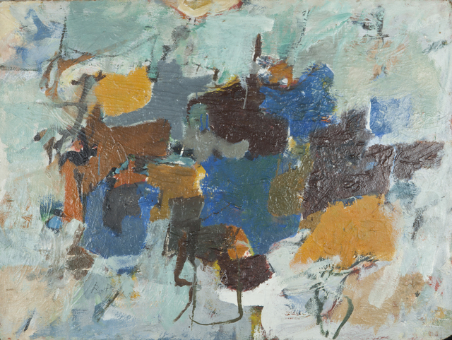 , 'Double Green,' 1957, Childs Gallery