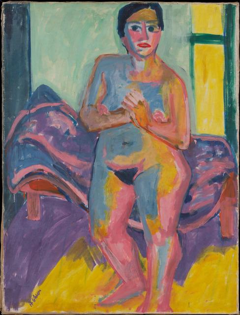 , 'Stehender Frauenakt,' , Galerie Knoell, Basel