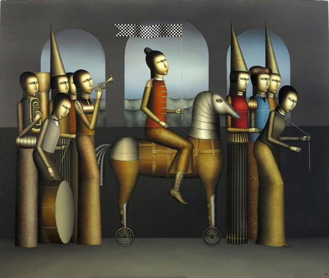 ", '""The Parade"" /""Resmi Geçit"",' 2014, Galeri 77"