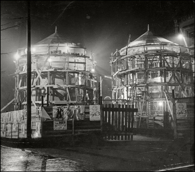 , 'Construction Site at Night. Hamburg, Germany,' 1930, Magnum Photos