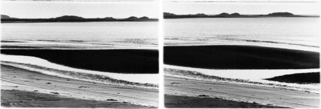 Carol Marino, 'Sweeping Beach, Nfld.', 2000, Photography, Gelatin silver print, diptych, Corkin Gallery