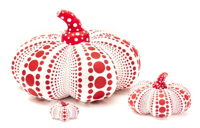 Soft Pumpkins (Red and White)