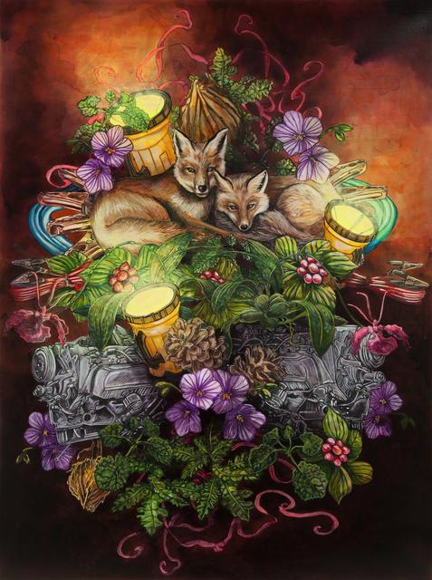 , 'Fox Nap / La Sieste des renards,' 2018, Galerie D'Este