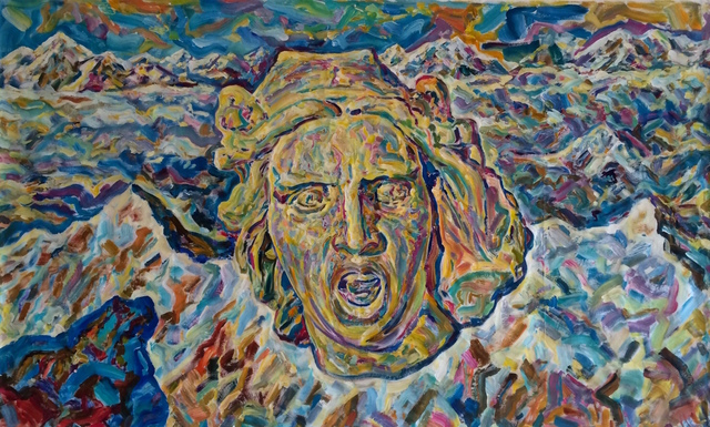 ", '""La Marseillaise"". 1,' 2018, Krokin Gallery"