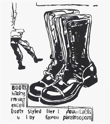 Andy Warhol, 'Paratrooper Boots', Christie's