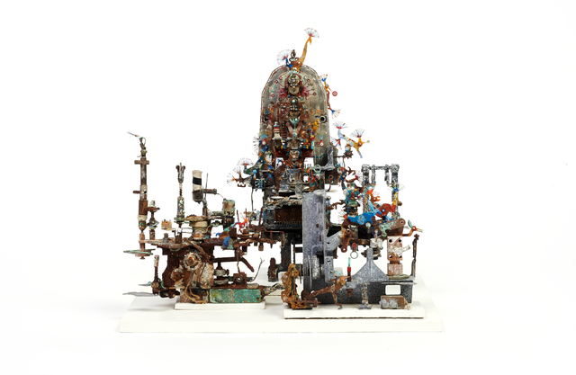 ACM, 'untitled', ca. 2010, Sculpture, Plaster, plastic, wire, metal, paint, wood, The Gallery of Everything