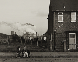 Chris Killip, 'Untitled (two girls on curb),' 1989, Phillips: The Odyssey of Collecting