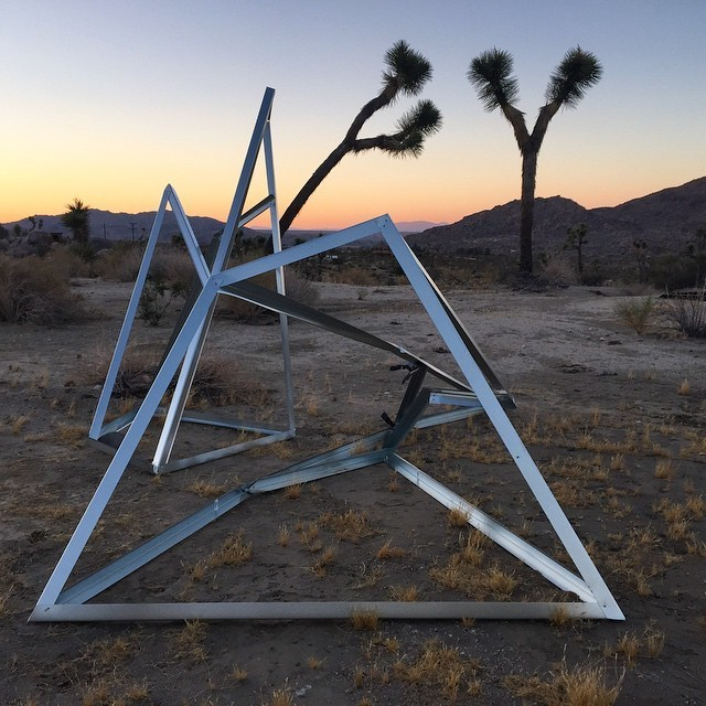 , 'Running High - Lands,' 2015, Joshua Tree Art Gallery