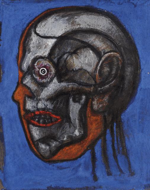 , 'Cabeça Tomográfica,' ca. 1970, Pinakotheke