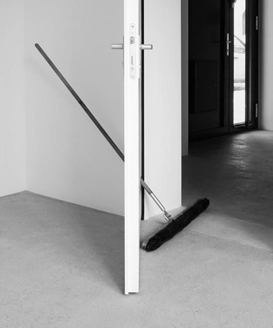 , 'Tür + Besen,' 2014, dr. julius | ap